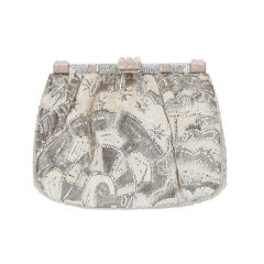 Judith Leiber Vintage Embroidered Shoulder Bag