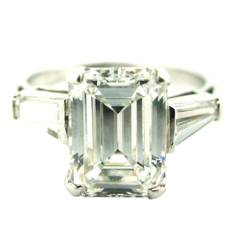 Classic 2 15 Carat Emerald Cut Diamond Engagement RingEmerald Cut Diamond 2 Carat