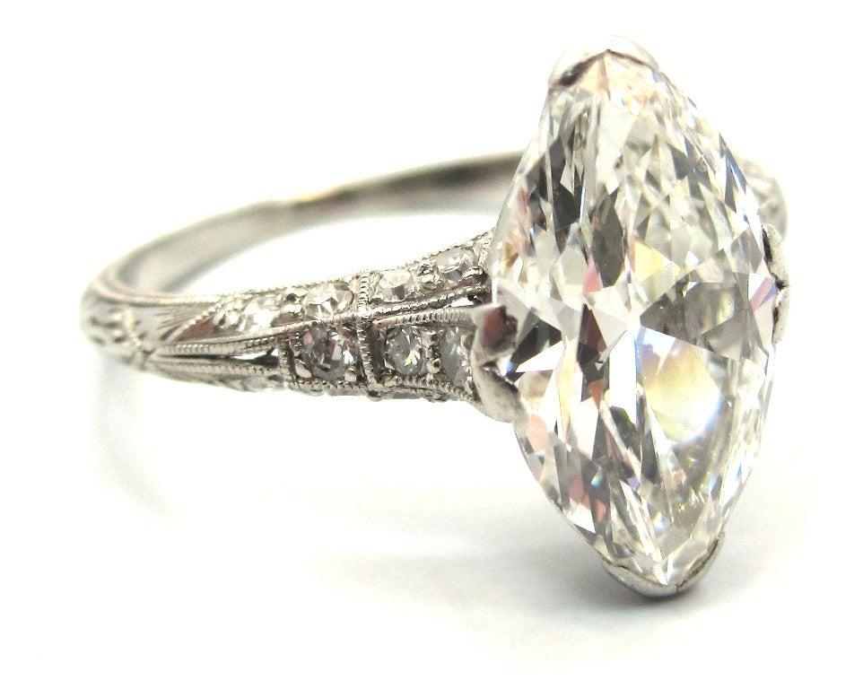 and unique edwardian era 2 43 carat antique