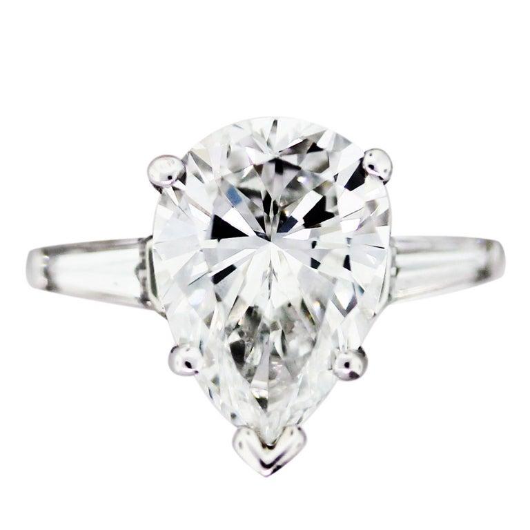 Carat Pear Shaped Diamond Size