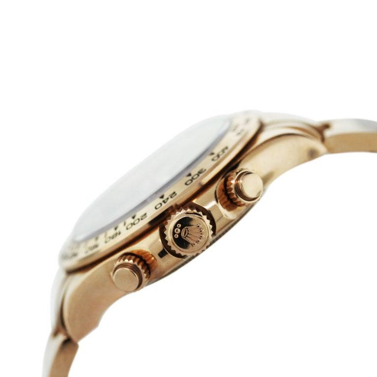Rolex Rose Gold Cosmograph Daytona Wristwatch Ref 116505 3