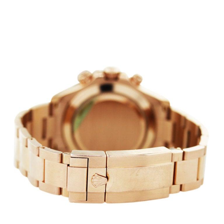 Rolex Rose Gold Cosmograph Daytona Wristwatch Ref 116505 4