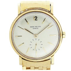 Patek Philippe Yellow Gold Automatic Wristwatch Ref 2548