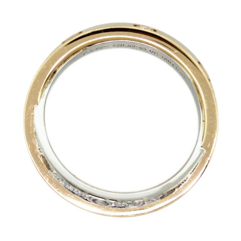 CARTIER Diamond Love Crossover Ring image 4