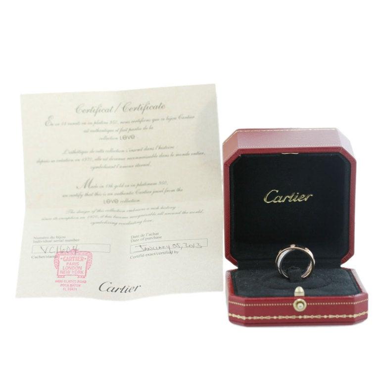 CARTIER Diamond Love Crossover Ring image 5