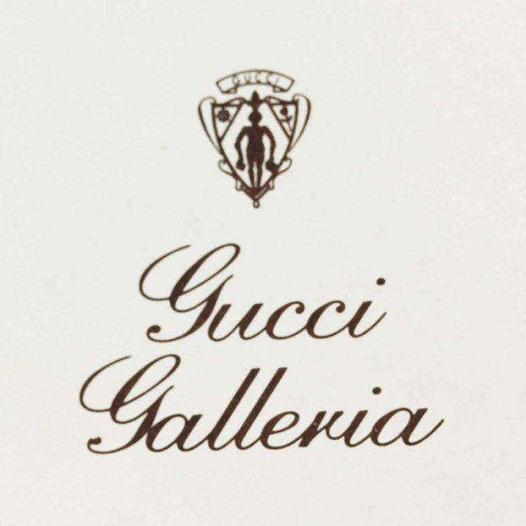 GUCCI Citrine Sapphire Diamond Yellow Gold Necklace 2