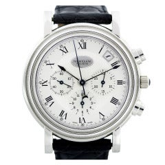 Parmigiani Platinum Toric Automatic Chronograph Wristwatch with Date
