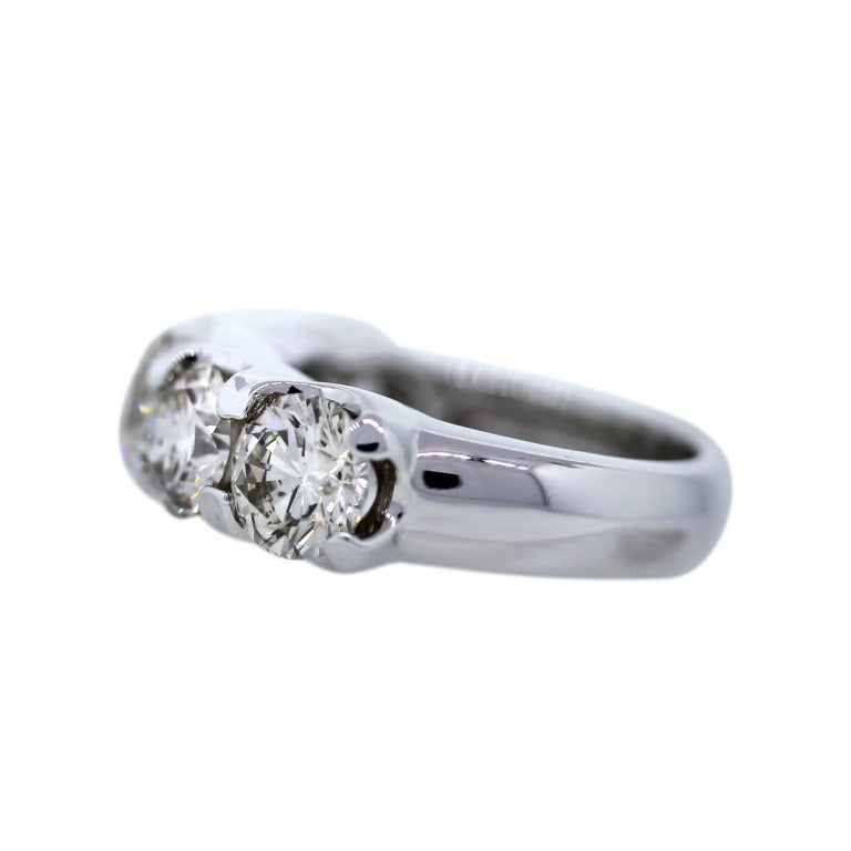 this five stone round brilliant diamond wedding band ring is no longer