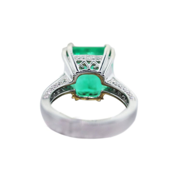 beautiful emerald and ring for sale at 1stdibs