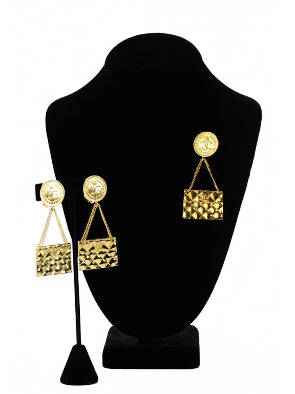 Vintage Chanel Earring and Brooch Set image 2