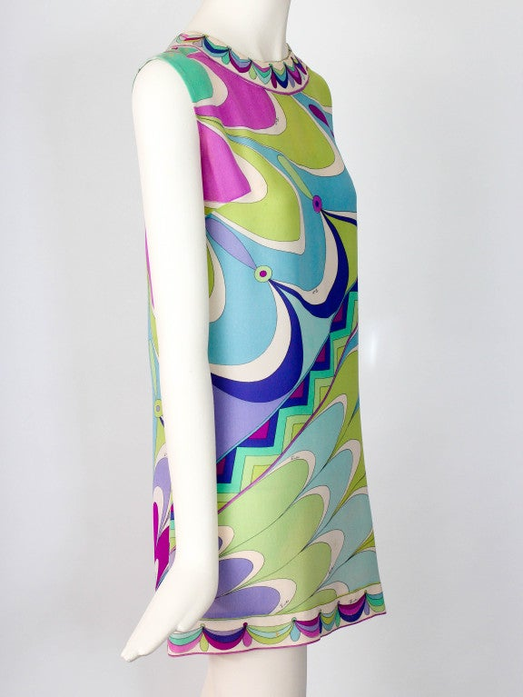 Emilio Pucci Pastel Sheath Mini Dress image 2