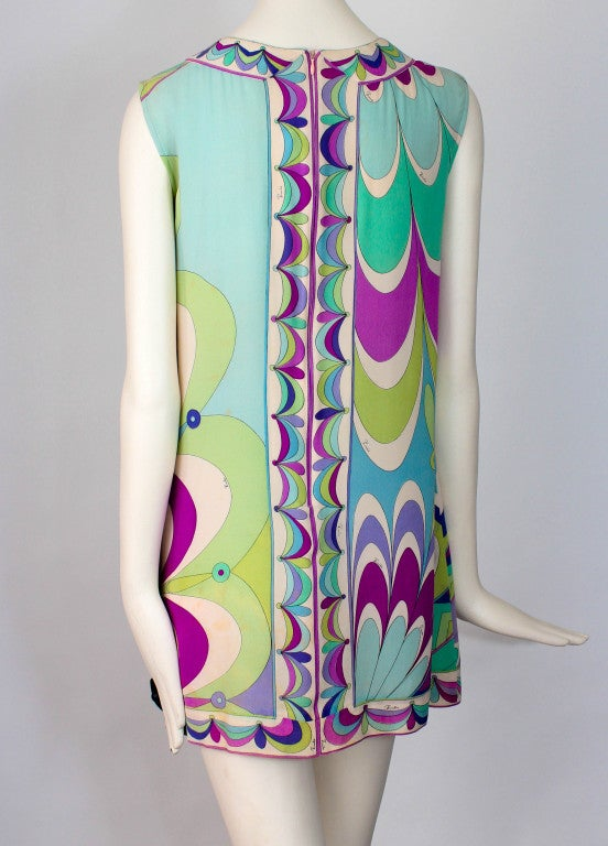 Emilio Pucci Pastel Sheath Mini Dress image 3