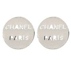 Chanel Industrial Style Clip-on Earrings