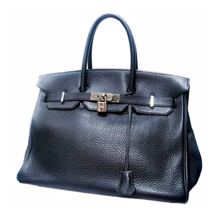 Black Hermes Birkin Bag Hermes 35 cm Birkin Bag Black