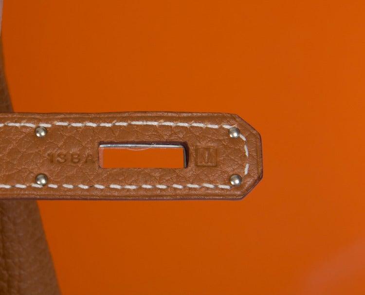 how to spot a fake hermes birkin - Hermes Birkin Bag 40 cm Gold Togo Leather PHW at 1stdibs