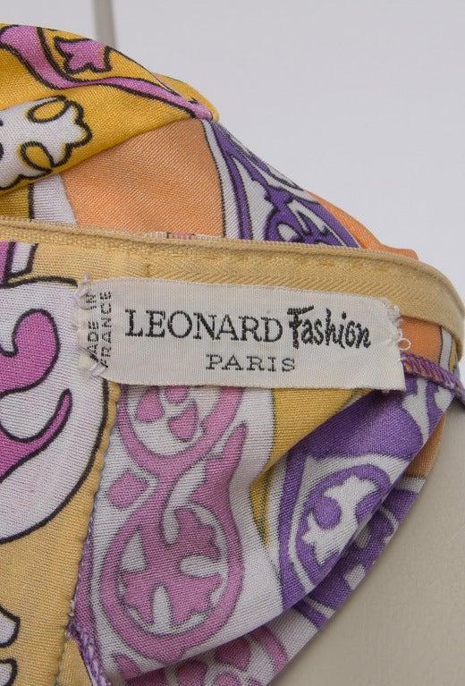 Vintage Leonard Paris Dress 3