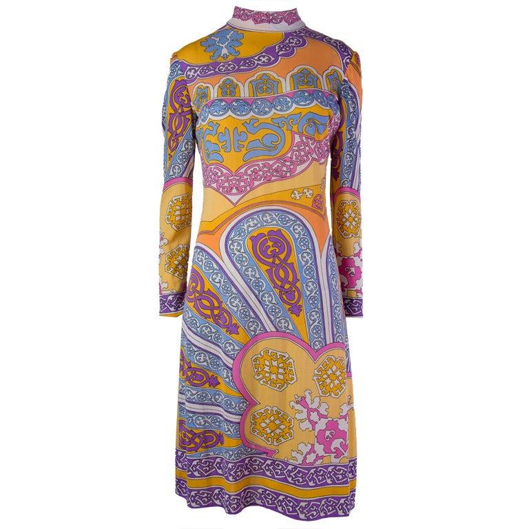 Vintage Leonard Paris Dress 1
