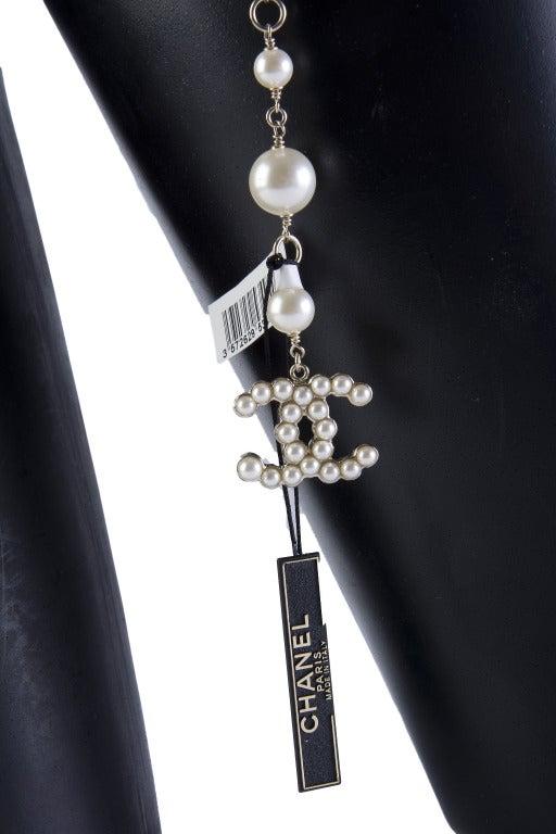 Chanel Fancy Belt  CC logo pearl 4