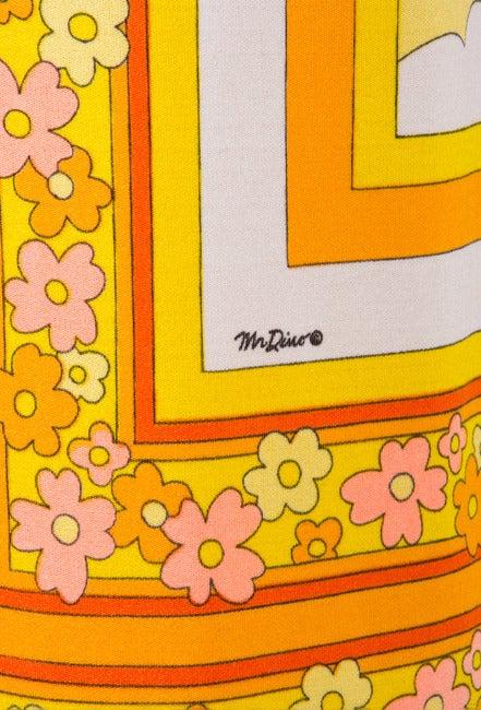 Mr. Dino Bodysuit & Skirt Set - Daisy Print 7