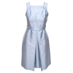 Courreges Glacier Ice Blue Iconic Dress
