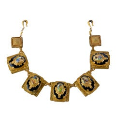 Rare 1920's Egyptian Revival Necklace