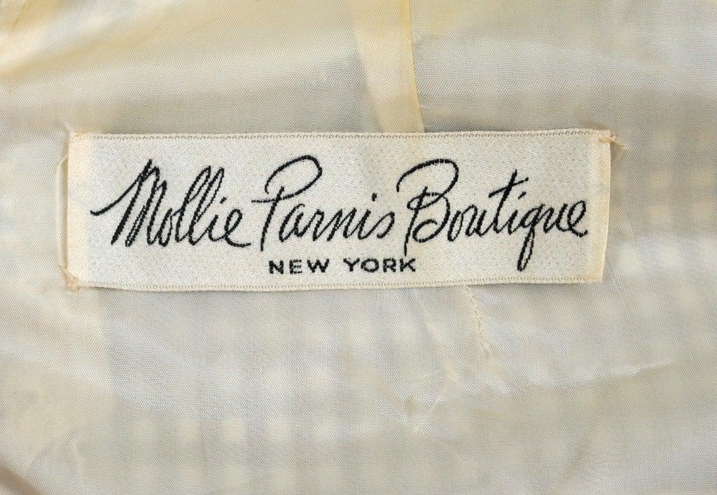 Mollie Parnis Sailor Dress For Sale 1