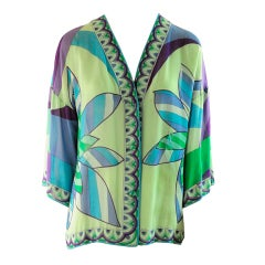 1960's Emilio Pucci Blouse Exclusive for Saks Fifth Avenue