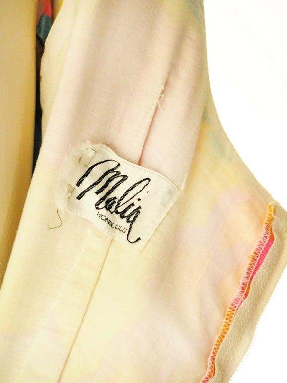 Malia Hawiian Maxi Dress in Neon Floral 6