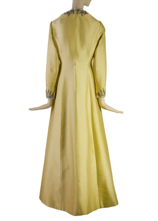 Victoria Royal Beaded Gown 1960's MAGNIFICENT 3