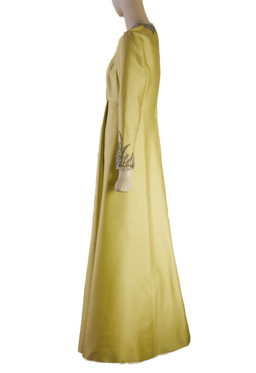 Victoria Royal Beaded Gown 1960's MAGNIFICENT 4