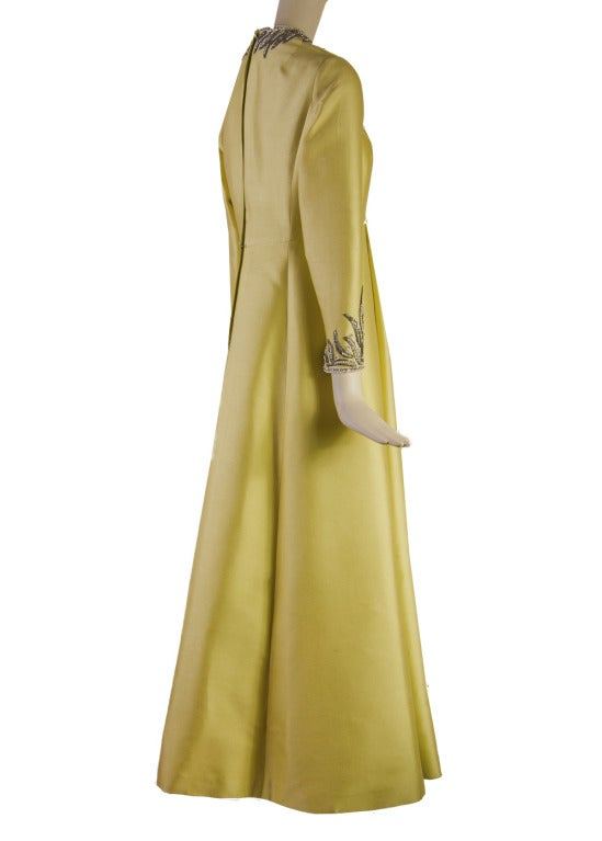 Victoria Royal Beaded Gown 1960's MAGNIFICENT 5