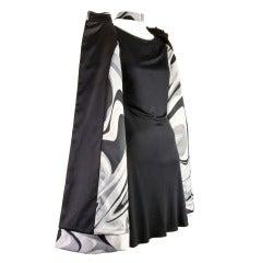 Emilio Pucci Dress & Matching Coat Ensemble 2PC Set Size 36