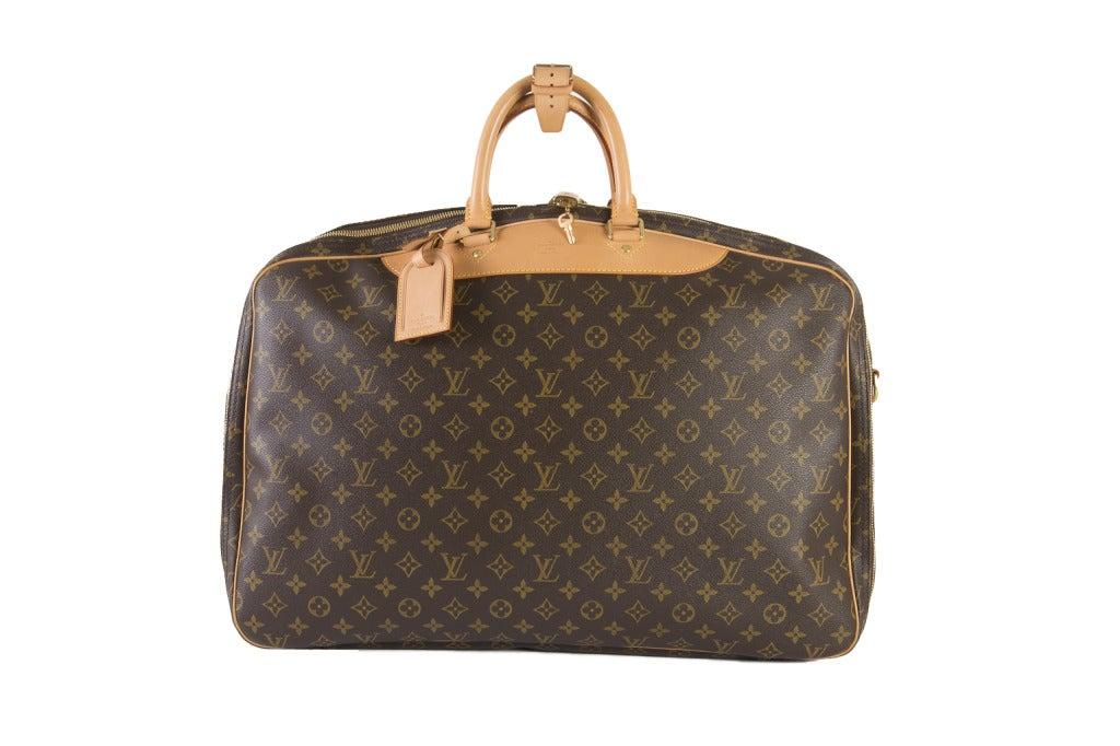 Louis Vuitton Monogram Canvas Alize 2 Poche Soft Suitcase 2