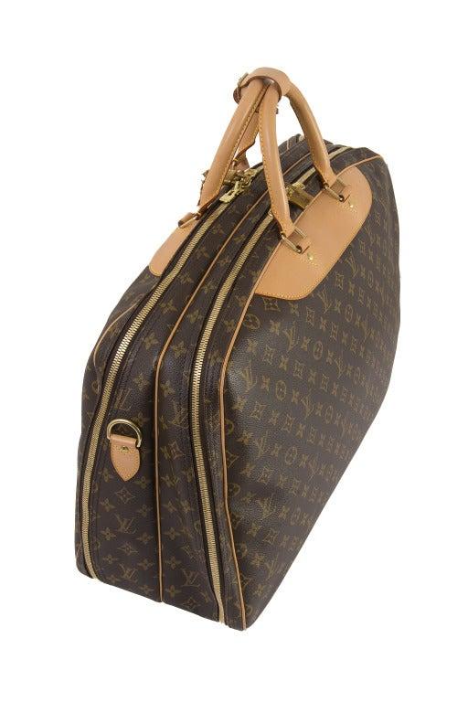 Louis Vuitton Monogram Canvas Alize 2 Poche Soft Suitcase 3