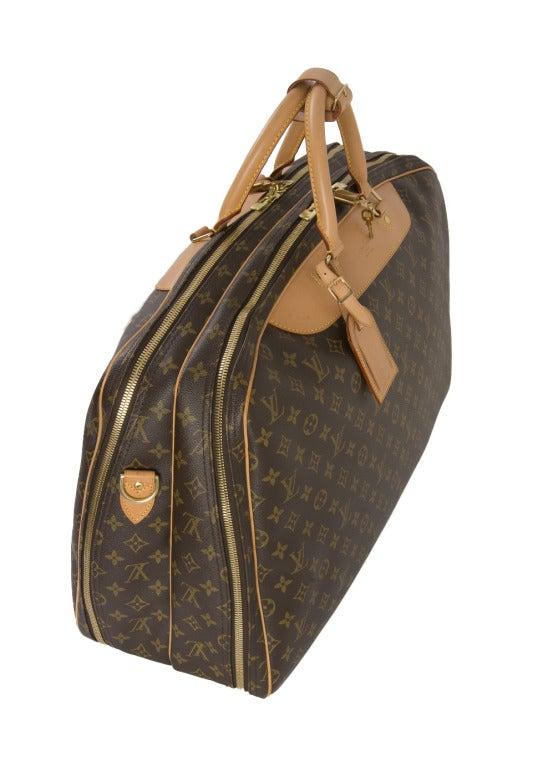 Louis Vuitton Monogram Canvas Alize 2 Poche Soft Suitcase 4