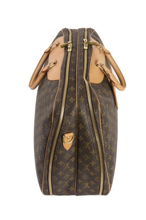 Louis Vuitton Monogram Canvas Alize 2 Poche Soft Suitcase 5