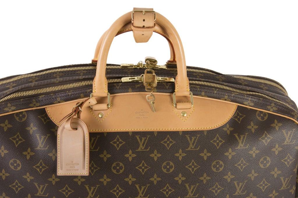 Louis Vuitton Monogram Canvas Alize 2 Poche Soft Suitcase 6