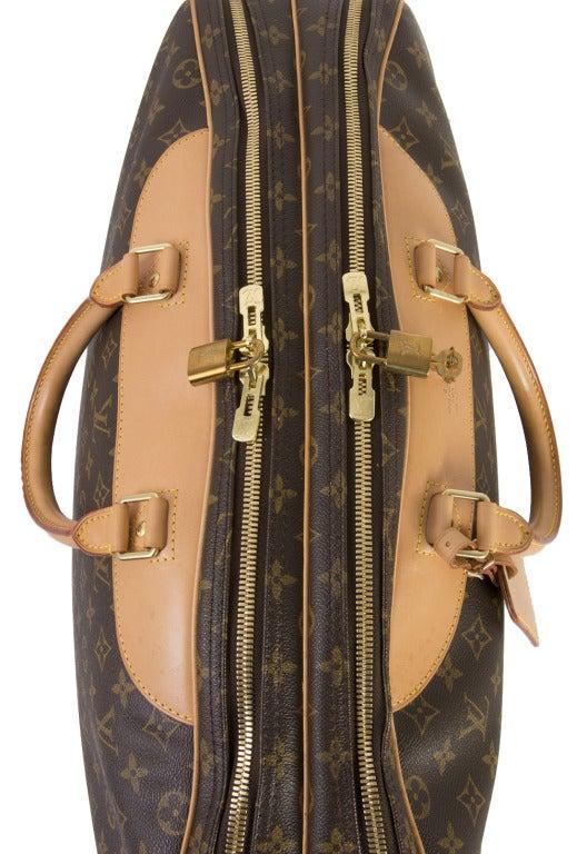 Louis Vuitton Monogram Canvas Alize 2 Poche Soft Suitcase 7
