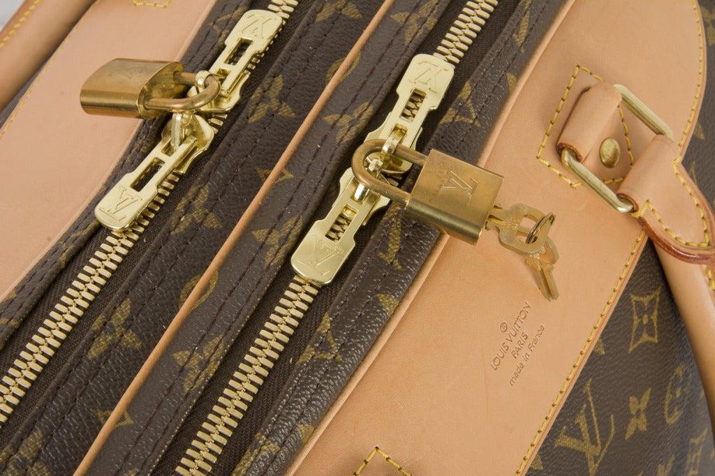 Louis Vuitton Monogram Canvas Alize 2 Poche Soft Suitcase 8