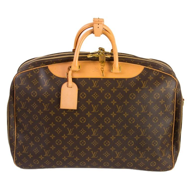 Louis Vuitton Monogram Canvas Alize 2 Poche Soft Suitcase 1