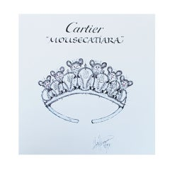 Mouse Couture Sketch by Cartier