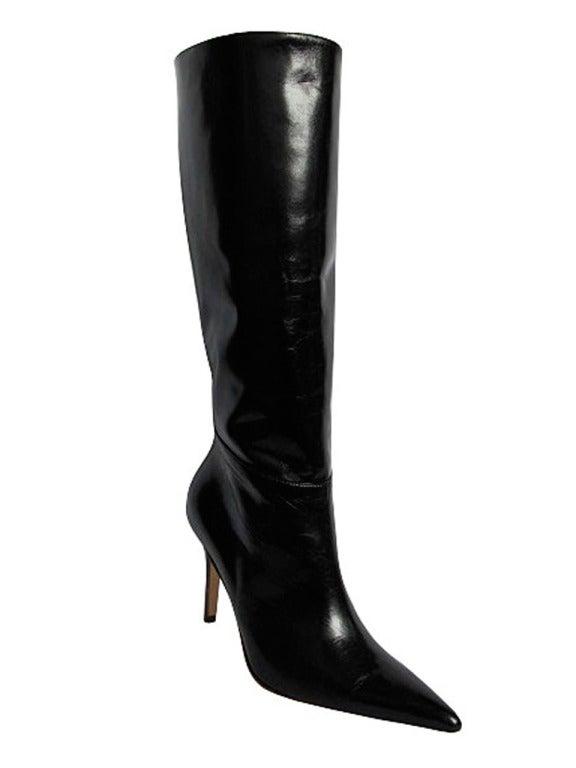 Valentino Black Leather Boots 2