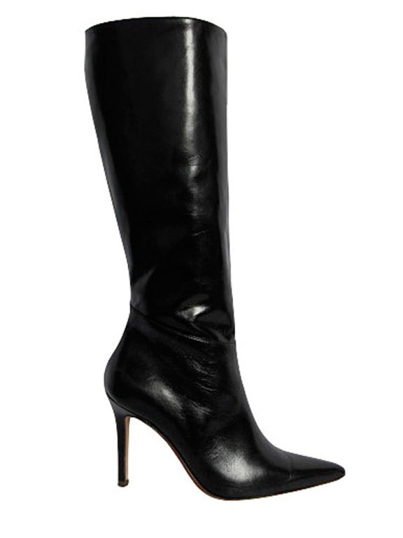 Valentino Black Leather Boots 3