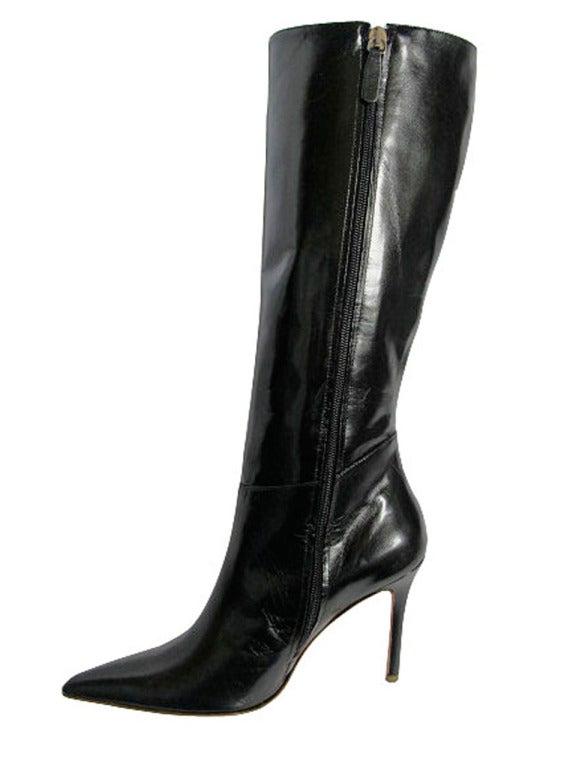 Valentino Black Leather Boots 4