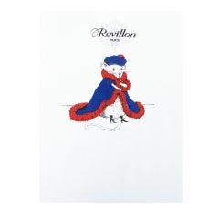 Mouse Couture Sketch by Revillon Paris