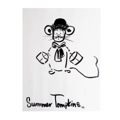 Mouse Couture Sketch by Summer Tompkins