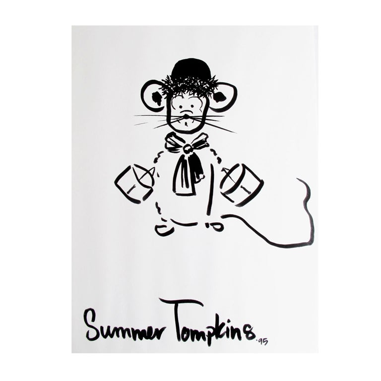 Mouse Couture Sketch by Summer Tompkins 1