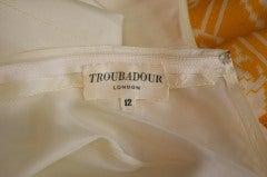 1970 S Troubadour London Ethnic Print Dress At 1stdibs