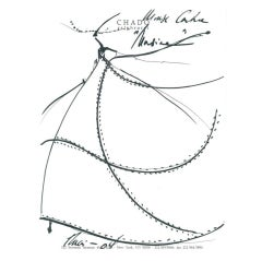 Mouse Couture Sketch by Chado Ralph Rucci