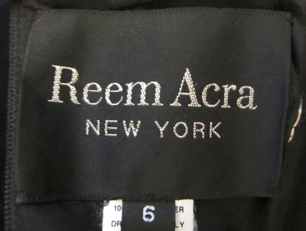 Reem Acra New York Ball Gown 5
